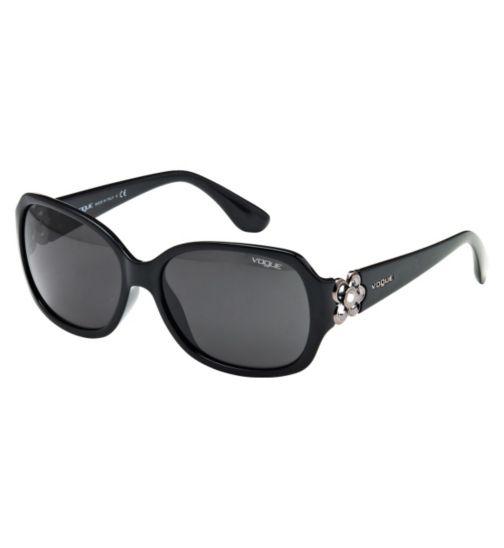 Vogue Women's Prescription Sunglasses - Black  0VO2778SB