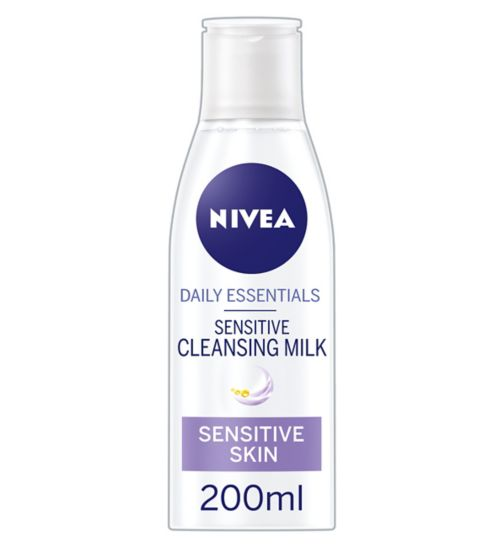 NIVEA Daily Essentials Sensitive Cleansing Milk 200ml