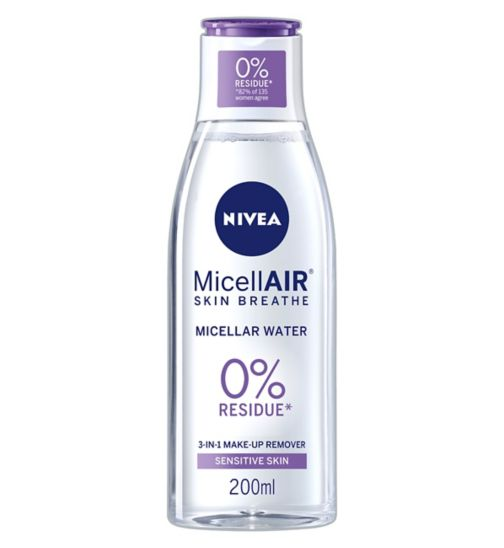 NIVEA® Daily Essentials Sensitive 3in1 Micellar Cleansing Water 200ml