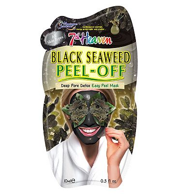 Montagne Jeunesse Black Seaweed Peel Off Masque - Ultra deep cleansing straight from the sea.