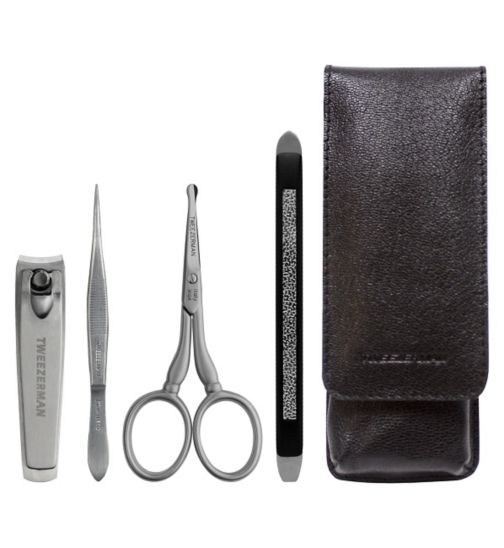 Tweezerman Gear Mens Essential Grooming Kit