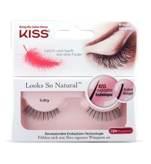 KISS Look So Natural Lash  Sultry