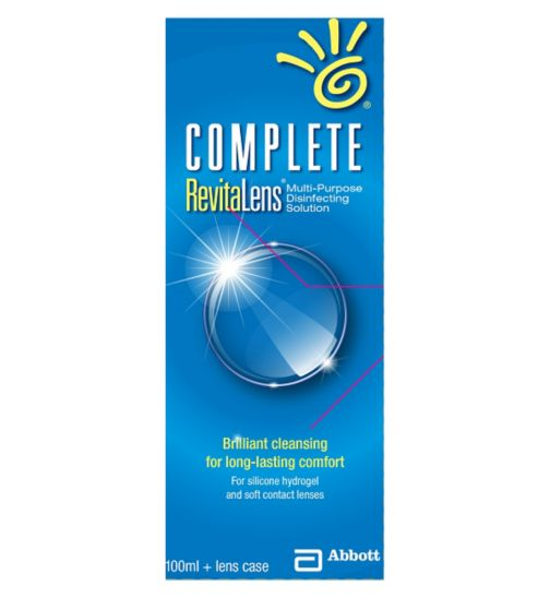 Complete RevitaLens Multipurpose Disinfecting Solution - 100ml