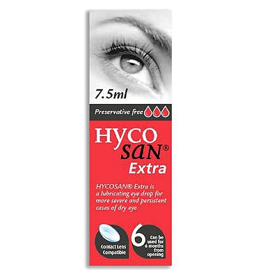 Hycosan Extra Preservative Free Eye Drops - 7.5ml