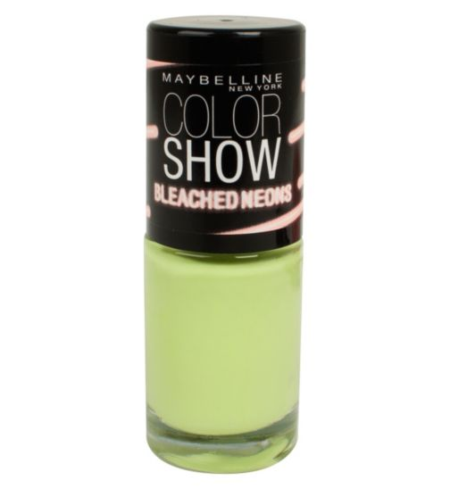Maybelline Colorshow Bleached Neons Nail Polish
