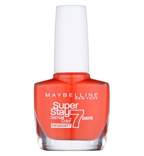 Maybelline Forever Strong SuperStay MegeWatt Nail Polish