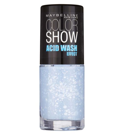 Maybelline Colorshow Acid Wash Nail Polish