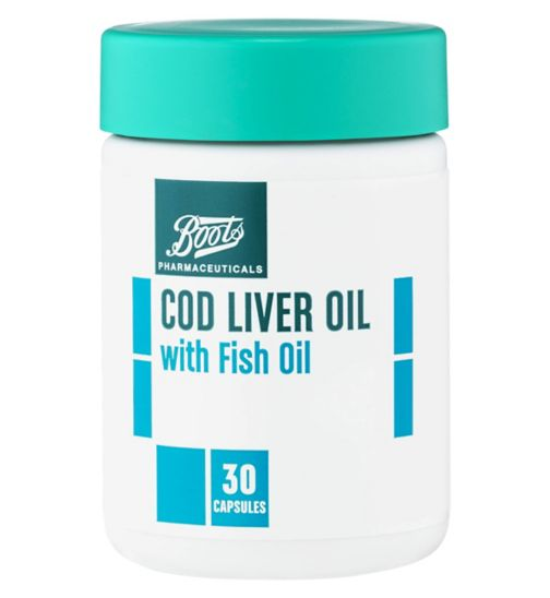 Boots Cod Liver Oil - 30 capsules