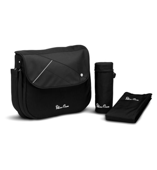 Silver Cross Surf & Wayfarer Changing Bag - Black