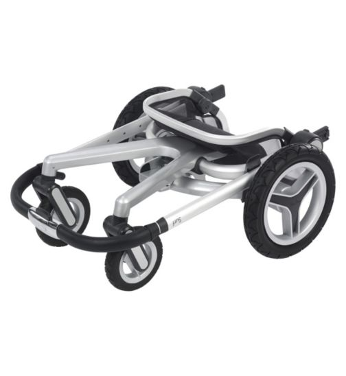 Silver Cross Surf 2 Seat Unit / Chassis & Carrycot