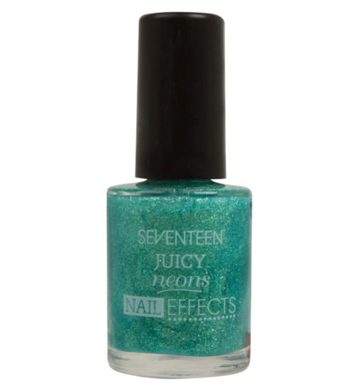 SEVENTEEN Juicy Neon Nail Effects