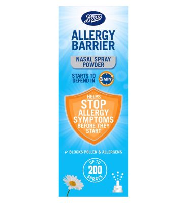 Boots Allergy Barrier Nasal Spray 800mg - up to 200 sprays