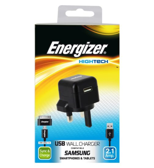 Energizer High Tech Micro USB Mains Charger for Smartphones and Tablets