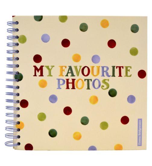 Emma Bridgewater Polka Dots Scrapbook Photo Album- 20 Sheets