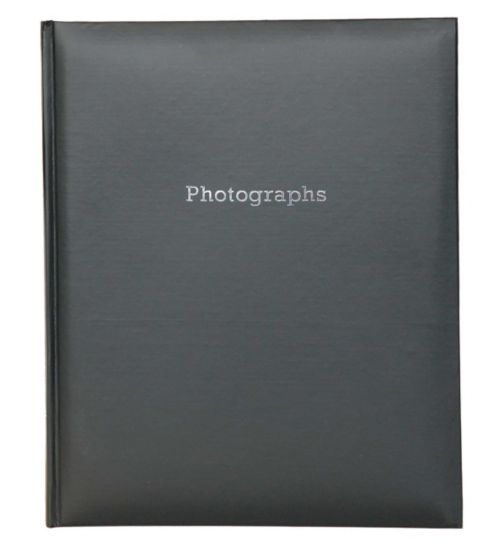 Black Self-Adhesive Photo Album 6x4 - 200 Photos