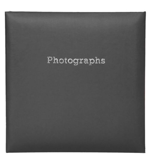 Innova Editions black memo slip in album holds 140 15x10cm 6x4