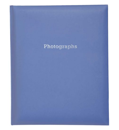 Navy Blue Self-Adhesive Photo Album 6x4- 200 Photos