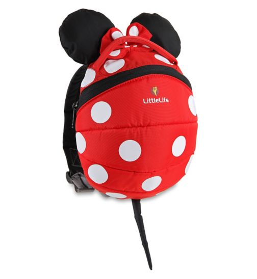 LittleLife Toddler Day Sack - Minnie Mouse