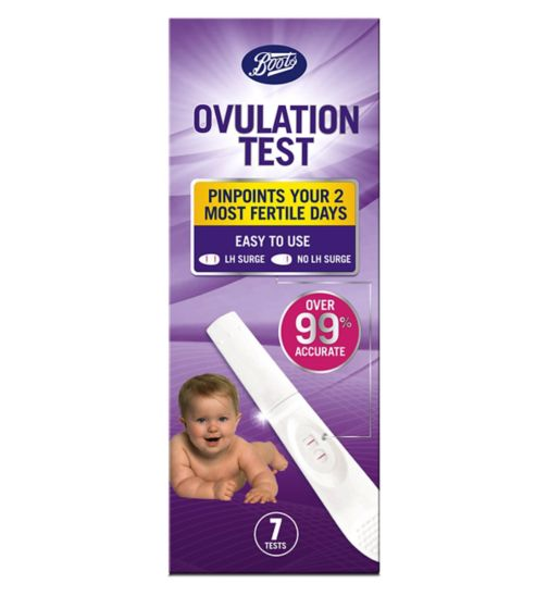 Boots Ovulation Test Kit 7 Tests Boots Ireland