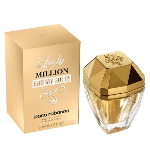 Paco Rabanne Lady Million Eau My Gold! Eau de Toilette 50ml