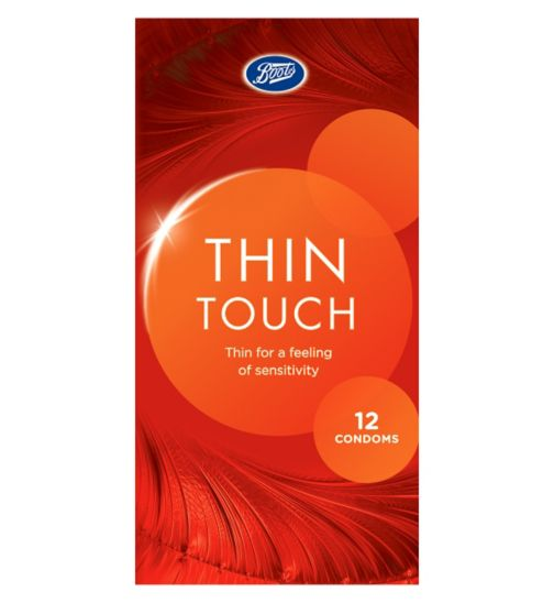 Boots Thin Touch Condoms 12's
