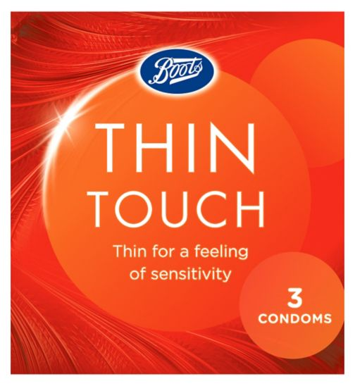 Boots Thin Touch Condoms 3's