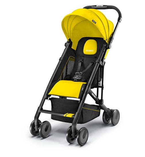 Recaro Easylife Pushchair - Sunshine Yellow Black Frame