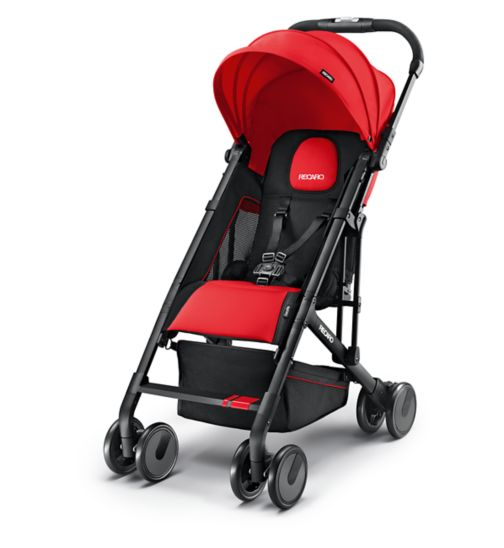 Recaro Easylife Pushchair - Ruby Black Frame