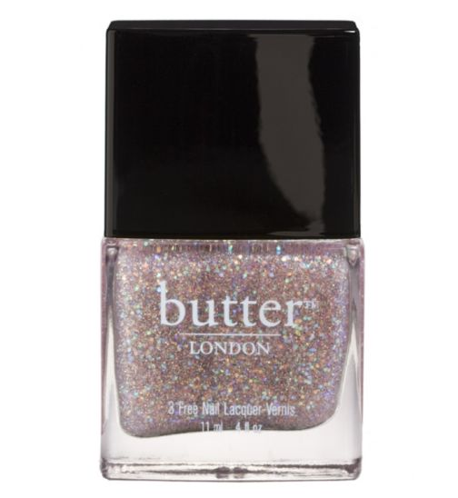 Butter London nail tart with a heart