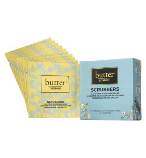 Butter London scrubbrs 2in1 remover wrap
