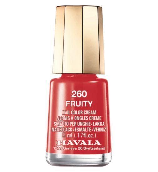 Mavala nail polish fruity 5ml