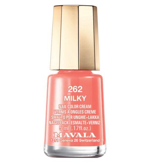 Mavala nail polish milky 5ml