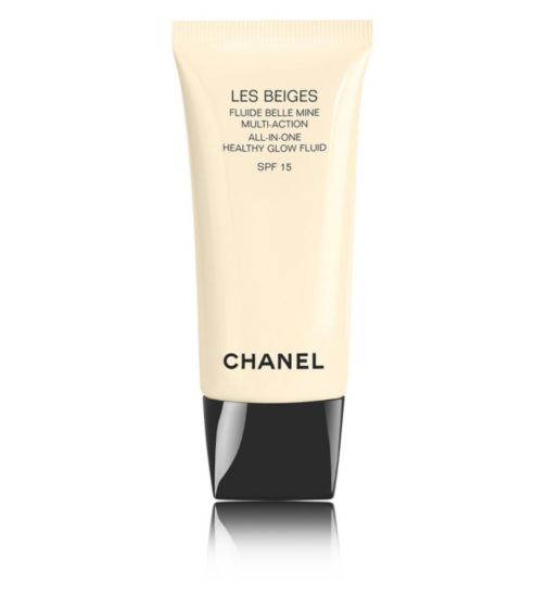 CHANEL LES BEIGES All In One Healthy Glow Fluid SPF 15