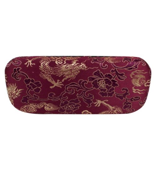 Boots Glasses Case - Purple