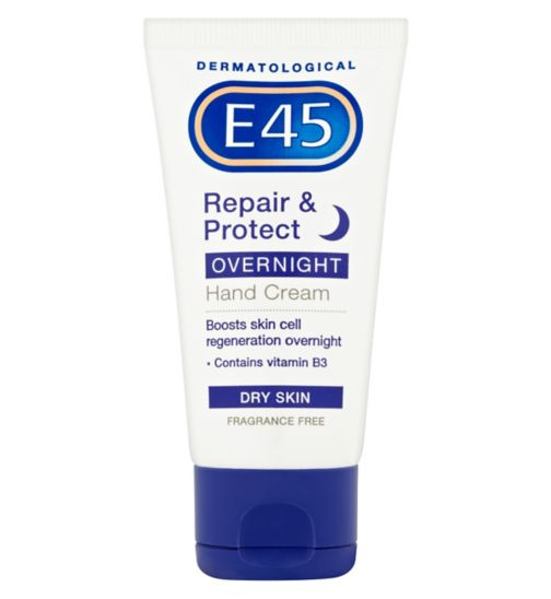 E45 Hand Cream Overnight Repair & Protect