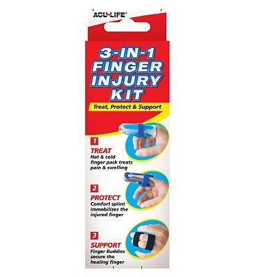 Acu-Life 3-in-1 Finger Injury Kit