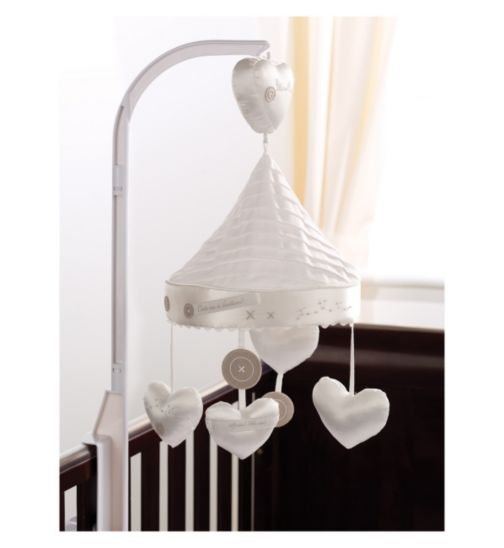 Silver Cross Luxury Musical Cot Mobile Handmade With Love