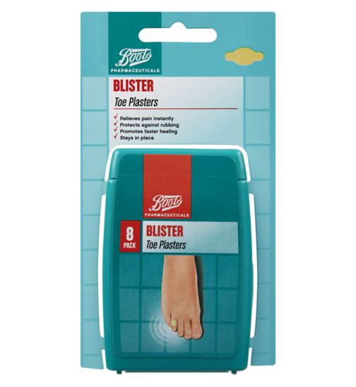 Boots Blister Toe Plasters 8 pack