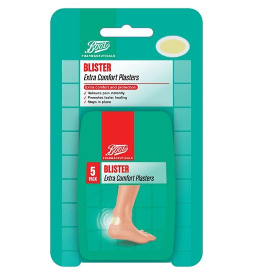 Boots Blister Plasters Extra Comfort 5 pack