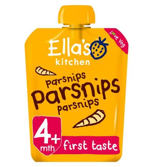 Ella's Kitchen Parsnips Stage 1 from 4 Months 70g