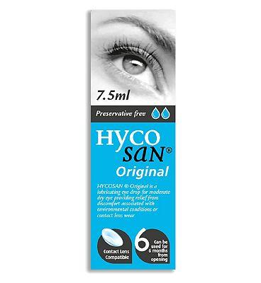 Hycosan Preservative Free Eye Drops - 7.5ml
