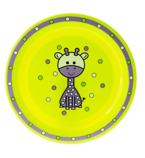 Boots Baby Safari Plate- Green