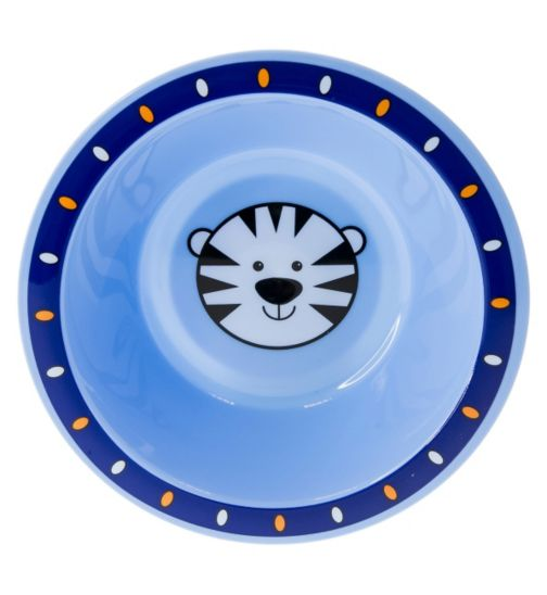 Boots Baby Safari Bowl- Blue