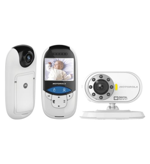 Motorola MBP27T Digital Video Baby Monitor and Thermometer