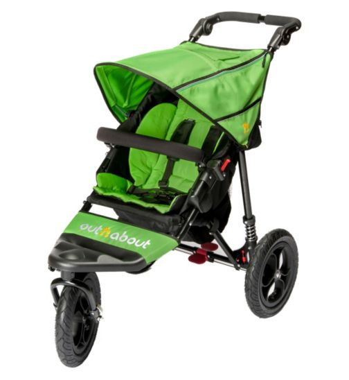 Out 'n' About Nipper Single V4 Pushchair - Green