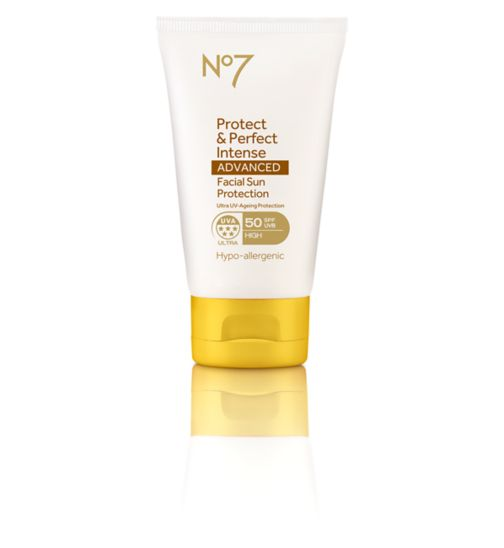 No7 Protect & Perfect Intense ADVANCED Facial Suncare SPF50+ 50ml