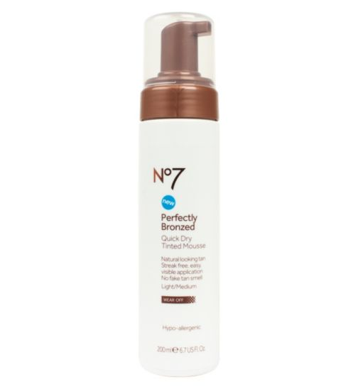 No7 Self Tan Mousse 200ml Light/Medium