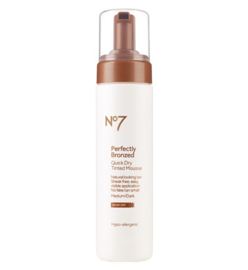 No7 Self Tan Mousse 200ml Medium/Dark