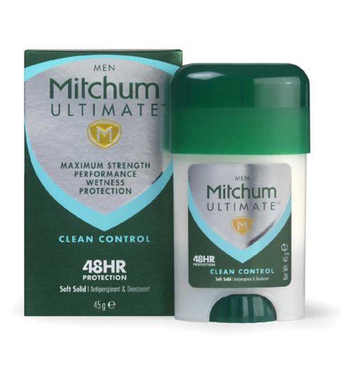 Mitchum Ultimate Cream Clean Control 45g