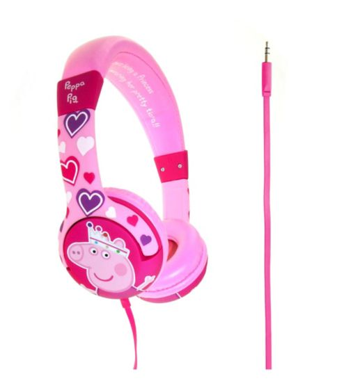 OTL Peppa Pig Heart Headphones
